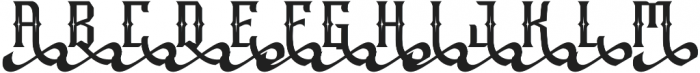 Raya otf (400) Font UPPERCASE