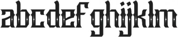 Raya otf (400) Font LOWERCASE