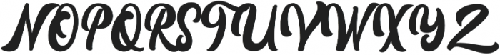 Rayhue otf (400) Font UPPERCASE
