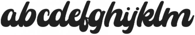 Rayhue otf (400) Font LOWERCASE