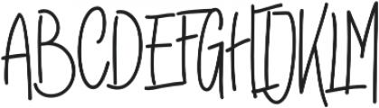 Raymod Colin Bold Two Bold otf (700) Font UPPERCASE