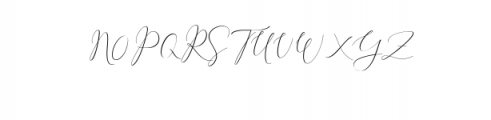 Rachela Script Alternative 3.ttf Font UPPERCASE