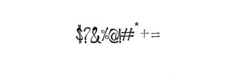 Ragword-Regular.ttf Font OTHER CHARS