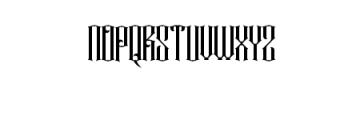 Rajawaley.ttf Font UPPERCASE