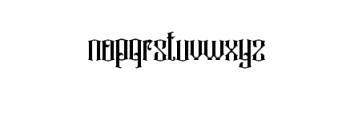 Rajawaley.ttf Font LOWERCASE