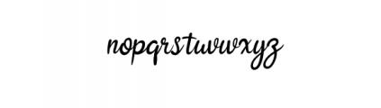 Ralliguta Font LOWERCASE