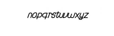 RamonaKiev.otf Font LOWERCASE
