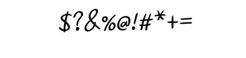 Ramyihu Font OTHER CHARS