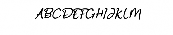 Ramyihu Font UPPERCASE