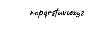 Ramyihu Font LOWERCASE