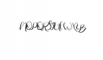 Rapsodie - Multilingual Script With English and Russian Letters Font UPPERCASE