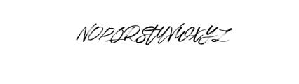Rapstaralt.-Regular.otf Font UPPERCASE