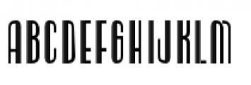 Radiogram Regular Font UPPERCASE