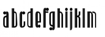 Radiogram Regular Font LOWERCASE