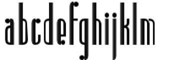 Radiogram Tall Font LOWERCASE