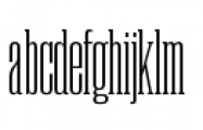 Rama Slab C Light Font LOWERCASE