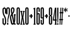 Rama Slab C SemiBold Font OTHER CHARS
