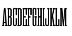 Rama Slab C SemiBold Font UPPERCASE