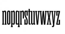 Rama Slab C SemiBold Font LOWERCASE