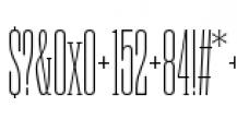 Rama Slab C Thin Font OTHER CHARS
