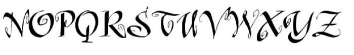 Raspberry Jam Font UPPERCASE