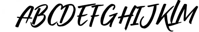 RADITYA Hand lettering 1 Font UPPERCASE