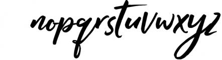 RADITYA Hand lettering 1 Font LOWERCASE