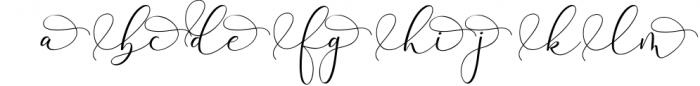 Rachela Lovely Calligraphy Font 3 Font LOWERCASE