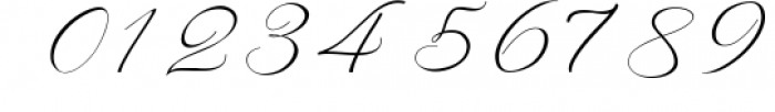 Rachela Lovely Calligraphy Font 4 Font OTHER CHARS
