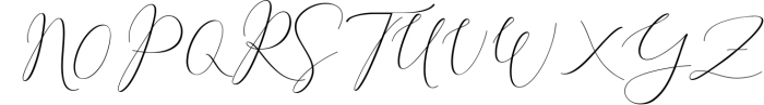 Rachela Lovely Calligraphy Font 4 Font UPPERCASE