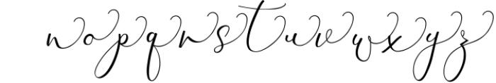 Rachela Lovely Calligraphy Font 4 Font LOWERCASE