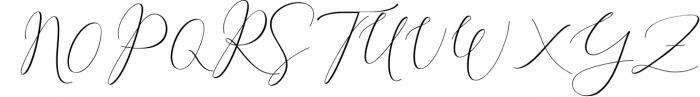 Rachela Lovely Calligraphy Font 5 Font UPPERCASE