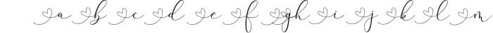 Rachela Lovely Calligraphy Font 5 Font LOWERCASE