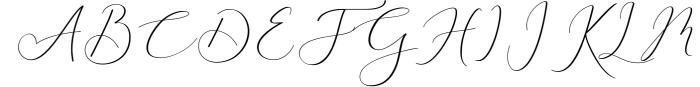 Rachela Lovely Calligraphy Font 6 Font UPPERCASE