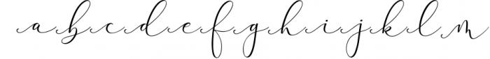 Rachela Lovely Calligraphy Font 6 Font LOWERCASE