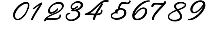 Rachela Script Bold 6 Font OTHER CHARS
