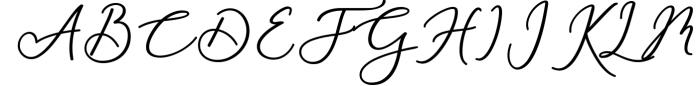 Rachela Script Bold 6 Font UPPERCASE