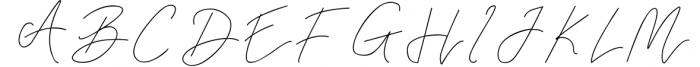 Rahayu Signature Font Font UPPERCASE