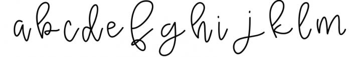 Raspberry - A Handwritten Script Font Font LOWERCASE