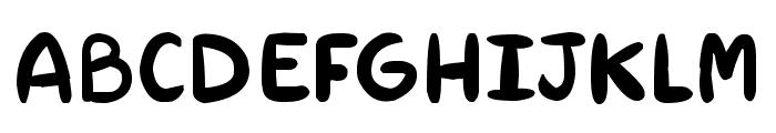 RAB Font UPPERCASE