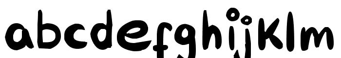 RAB Font LOWERCASE