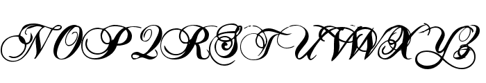 RADAGUND Font UPPERCASE