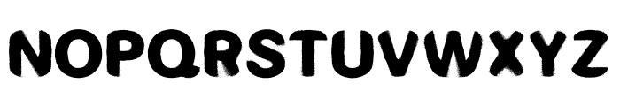 RADAR Font LOWERCASE