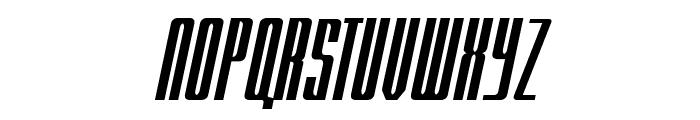 RADARitalic by Doug Sheets Font UPPERCASE