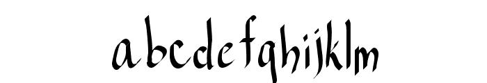 RAHand 1 Font LOWERCASE