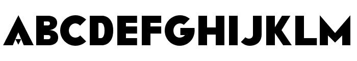 RAINFALL-Black Font LOWERCASE