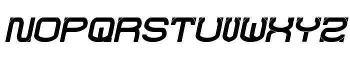 RAYNALIZ Bold Italic Font UPPERCASE