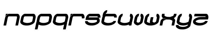 RAYNALIZ Bold Italic Font LOWERCASE