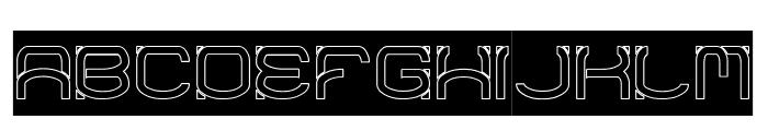 RAYNALIZ-Hollow Font UPPERCASE