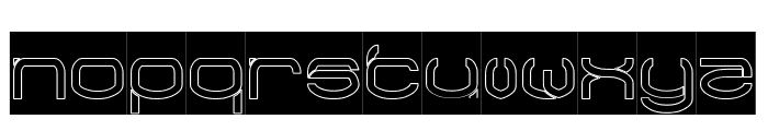 RAYNALIZ-Hollow Font LOWERCASE